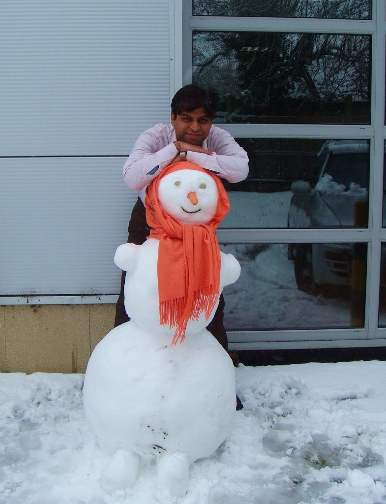 Pic's of me with SnowWoman