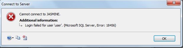 Log in failed, Error 18456 Severity 14 State 58 and more